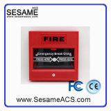 Liberação de porta de emergência com resetável com 2 furos (SACP22W)