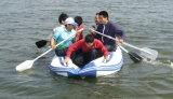 Airmatの床(FWS-D290)が付いている川の膨脹可能なボート