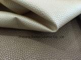 Clássico couro sintético de PVC para saco / estojo / mala coberta