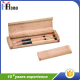 С коробки пер подарка промотирования деревянное/без пер