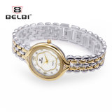 Waterdichte Horloge van de Oppervlakte van de Pruim van de Vrije tijd van de Manier van de Vrouwen van het Horloge van de Manier van het Horloge van het Staal van Belbi het Hoge Ovale