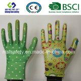 Нитрил покрыл трудные защитные перчатки работы безопасности сада