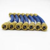 Boyau de remplissage réfrigérant bleu de la couleur W.P 600psi Nitrile/PVC