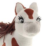 شعبيّة لعبة قطيفة رسم متحرّك [سبوتّد] حيوان يحشى قطيفة حصان حجر السّامة