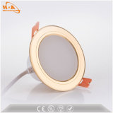 Support en plastique Downlight d'encastrement du watt DEL Downlight de la couverture 5 de Downlight