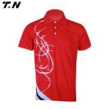 Chemise de polo de mode avec la qualité, chemise de polo de maille de piqué