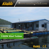 Turbine de vent de bonne qualité d'approvisionnement d'usine pour l'usage de bateau