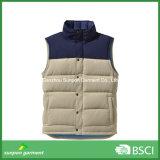 O Waistcoat quente baixo MOQ vende por atacado a veste do estofamento para o inverno