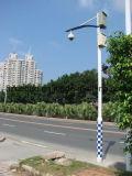 Straßen-Hot-DIP galvanisierte Stahlkamera Pole