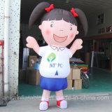 Traje inflável barato da mascote do terno da menina 2017 para adultos e miúdos