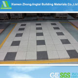 Pavimentação cerâmica do baixo carbono quadrado da paisagem