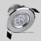 5W 7W LED blanco cubierta de techo del punto de luz con Ce