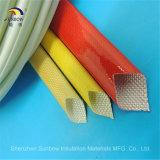 Chemise extensible colorée de fibre de verre pour la protection de câble