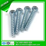 Parafuso parcial principal Torx quente da linha da galvanização 5mm para o PVC