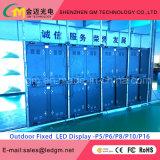 Afficheur LED fixe polychrome extérieur de P5 SMD pour la publicité