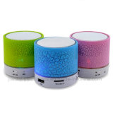 Mini haut-parleur de Bluetooth d'éclairage LED de la radio USB (572)
