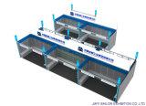 Stand en aluminium cru d'extrusion d'approvisionnement de cabine d'exposition de foire commerciale