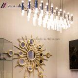 Светильник самомоднейшей просто стеклянной лампы привесной для гостиницы
