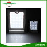 Lumière solaire extérieure actionnée solaire imperméable à l'eau de mur de détecteur de mouvement de la lumière PIR de l'intense luminosité 25 DEL
