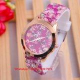 Relógio consideravelmente elegante das mulheres de quartzo com cinta cerâmica Fs595