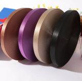 Kundenspezifisches Satin Striped Grosgrain-Farbband mit Firmenzeichen-Entwurf