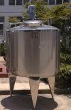 ステンレス鋼の倍の壁の暖房混合タンクJacketedタンク