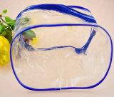 Sacs en plastique clairs de beauté de Costomized pp avec la tirette
