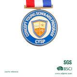 Custom esmalte suave Medalla / cobre plateado Medallón