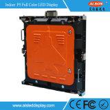 Écran de location de coulage sous pression économiseur d'énergie polychrome d'intérieur de l'Afficheur LED P5