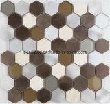 Алюминиевое стекло Matel плитки плиток мозаики каменное кроет плитки черепицей стены мозаики ванной комнаты Backsplash кухни украшения