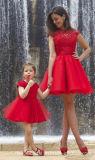 레이스 어머니 딸 Prom 가운 Ck2017가 가족 파티복에 의하여 누전한다
