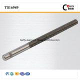 Вал сплайна высокой точности изготовления Китая стальной для механических инструментов