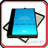 Insignia y diseño modificados para requisitos particulares planificador promocional del cuaderno del regalo