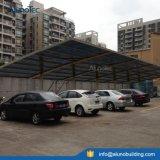 Refugio cochera grande de aluminio del coche del panel de policarbonato