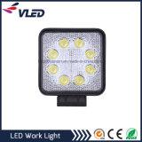 Großhandelsträger 12V des Punkt-24W/der Flut imprägniern Auto-Beleuchtung-Arbeits-Licht LED