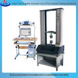 Máquina de teste universal da deformação da força elástica de servo motor do vertical para a borracha