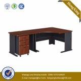 Diseño de lujo L escritorio de oficina ejecutiva del estilo de la dimensión de una variable (HX-FCD040)