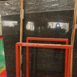 Polished слябы Nero Сахары Noir черные мраморный для стены и настила