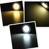 Badezimmer Energie-Einsparung Downlight Ultra Slim Round LED Panel Light 9W SMD2835 Lamp White Color Ceiling Panel