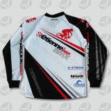 Motocicleta por atacado Jersey do preço de fábrica personalizada competindo Jersey para a equipe