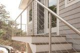 De Balustrade van het Dek van het aluminium/van het Roestvrij staal/het Traliewerk van de Trede/het Schermen