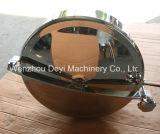 위생 스테인리스 Ss304 원형 탱크 Manway