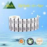 Selbstklebende Aufkleber-Typ-und Verschiffen-Kennsatz-Verbrauch-Temperatur-Kennsätze