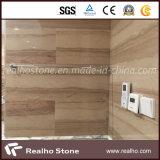 シャワーの壁およびたらいの環境のためのAthena木か木の灰色の大理石の石造りの平板