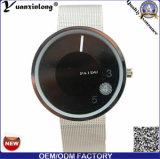 La marca de fábrica del cuarzo B Paidu de la correa del acoplamiento del reloj de los hombres del diseño simple de la manera Yxl-356 mira el reloj de los hombres