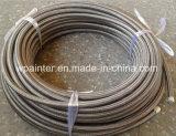 """TeflonEdelstahl-Schlauch SAE-100 R14 3/4 """" Hochdruck-PTFE"""