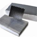 Base de panal de aluminio ampliada usada para llenar las puertas (612)
