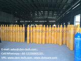 Gas Station Gas, das Zylinder transportiert