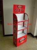crémaillère d'étalage faite sur commande de nourriture d'étagère des marchandises 3-Layers