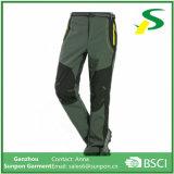 Trekingtrousers rampicante di campeggio impermeabile ansima i pantaloni del pattino di Softshell di inverno